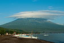 Bali Beach House & Mount Agung