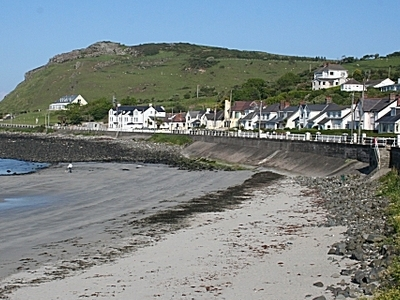 Looking South At Ballygally Beach