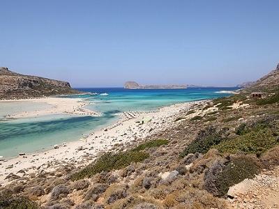 Balos Lagoon & Gramvousa Islands In Crete