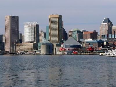 Baltimore Skyline From The Inner Harbor