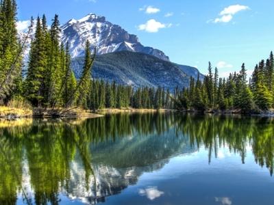 Banff Cascade Mountain