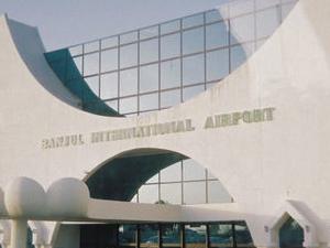 O Aeroporto Internacional de Banjul