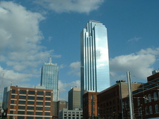 Bank Of America Plaza View