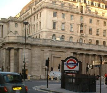 Entrances At The Bank Of England