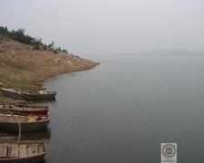 View Of Bansagar Dam