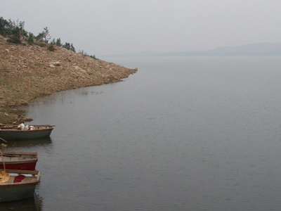 View Of Bansagar Dam