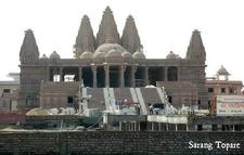 BAPS Shri Swaminarayan Mandir Nagpur - Construction