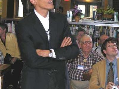 Barack  Obama In  Onawa