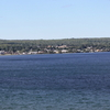 Baraga Michigan Panorama Keweenaw Bay Lake Superior