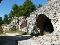 Barbegal Aqueduct And Mill