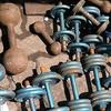 Barbells For Sale At Chor Bazaar