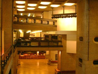 Barbican Arts Centre Interior