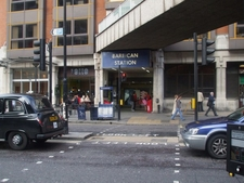 Barbican Station Entrance