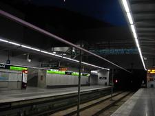 Platforms Of Torre Baró-Vallbona Station
