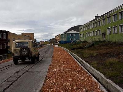 Barentsburg Main Street