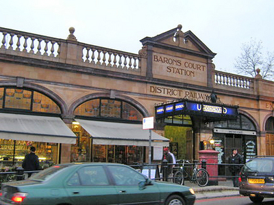 Barons Court Station