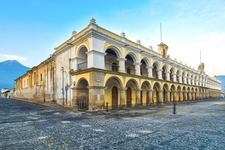 Baroque Style Structure In Antigua