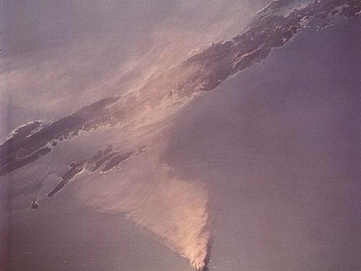 Barren Island Erupting