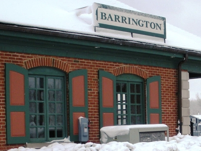 Barrington  I L  Train  Station