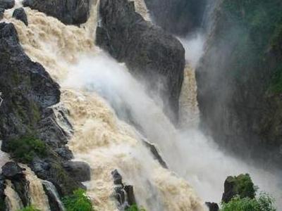 Barron Falls In The Wet Season
