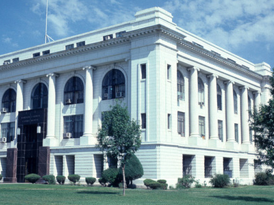 Barton County Courthouse In Great Bend