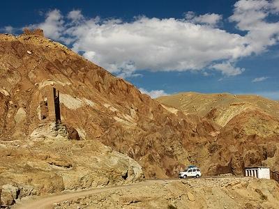 Basgo Landscape - Leh-Ladakh-J&K