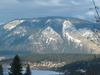 Bastion Mountain Across Salmon Arm Of Lake Shuswap