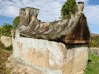 Batak Tomb In Samosir Island - Sumatra