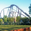 Six Flags New England Sits On The Connecticut River Across From