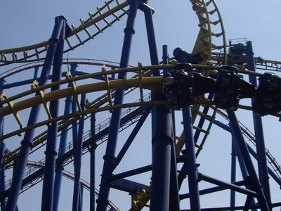 Batman: The Ride At Six Flags Mexico
