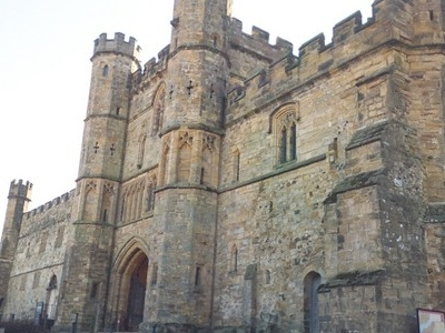 Another View Of The Abbeys Main Gate
