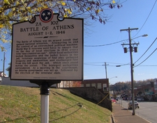 Battle Of Athens Tennessee