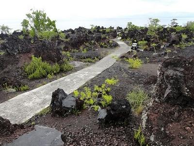 Batu Angus Lava Flow From Gunung Api