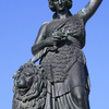 Bavaria Statue And Lion After Renovation