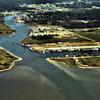 Bayou La Batre Harbor Aerial View