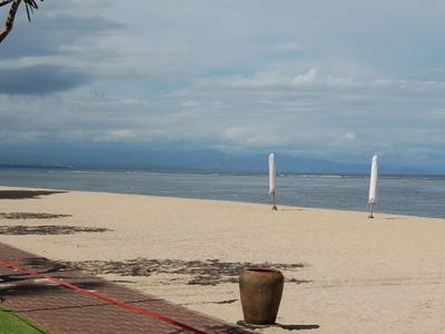 Beach Outside The Bali Hyatt