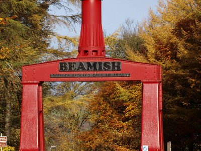 Beamish Museum Entrance
