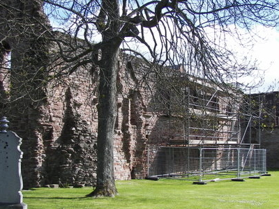 Beauly  Priory Outside