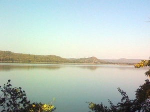 Beautiful Khekranala Lake