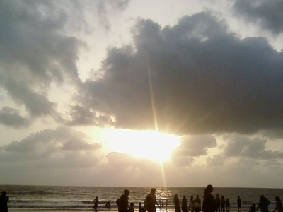 Beautiful Sunset Parnaka Beach