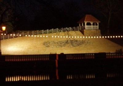Bedford Castle Night