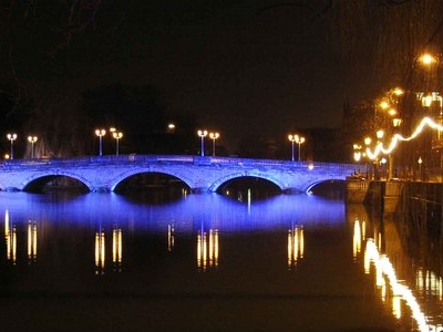 Bedford Town Bridge Night Jan 2 0 0 7