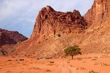 Bedouin Tents In Wadi Rum - Jordan