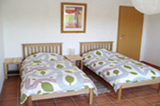 3 Spacious Twin Bedrooms