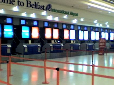 Belfast  Airport Check In