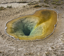 Belgian Pool - Yellowstone - USA