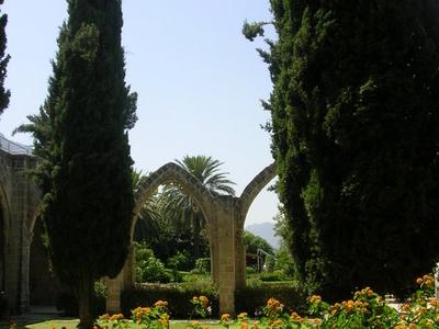 Bellapais Monastery Inner Court