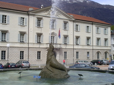 Palace Of The Ticinese Government In Bellinzona