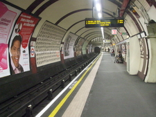 Southbound Platform Looking South