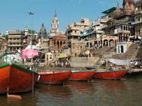 Benares Ghat , Varanasi, India